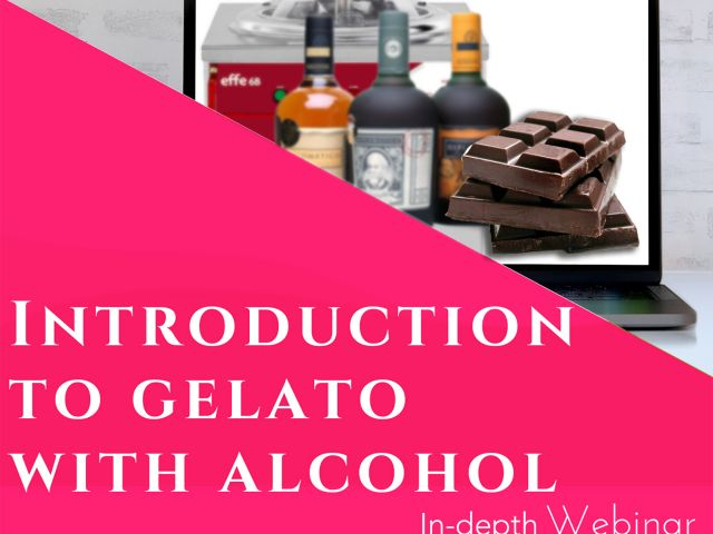 Gelato with Alcohol - webinar