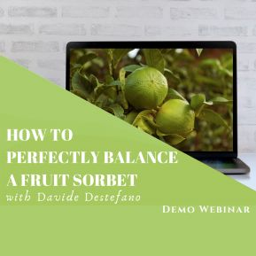 How to perfectly balance a fruit sorbet - webinar