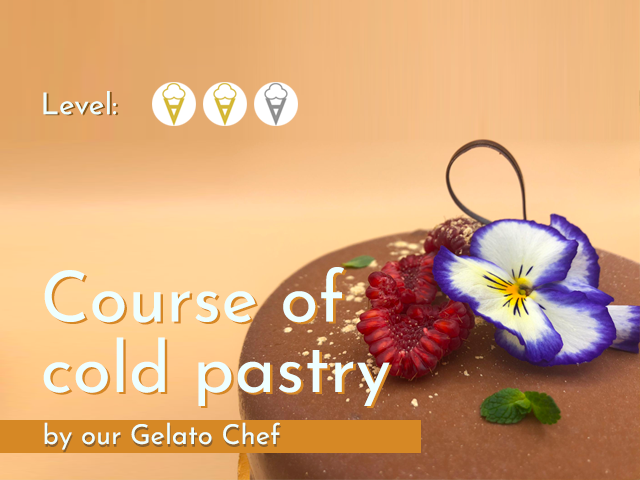 Course of cold pastry