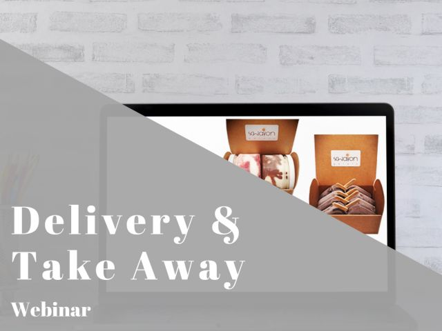 Gelato Delivery and Take Away - Webinar