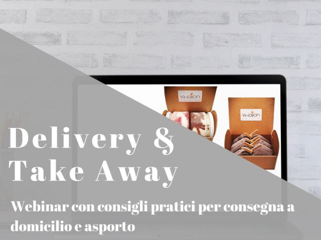 Delivery e Take Away - Webinar