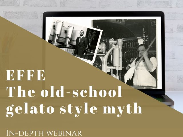 EFFE, The old-school gelato style myth
