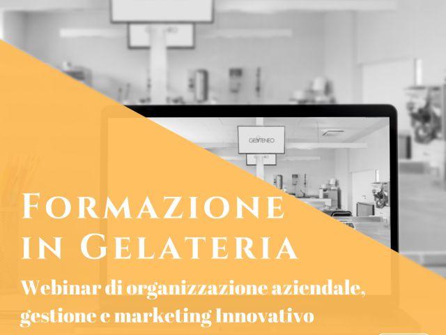 Formazione in Gelateria - webinar
