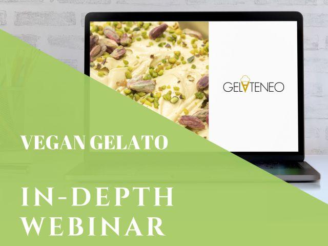 Vegan gelato - webinar