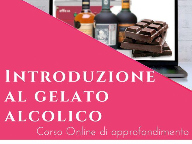 Il Gelato Alcolico - Corso online di approfondimento