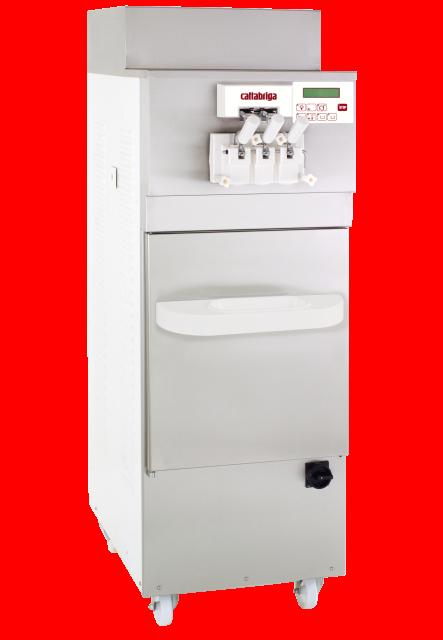 603 inox macchina da pavimento per gelato soft