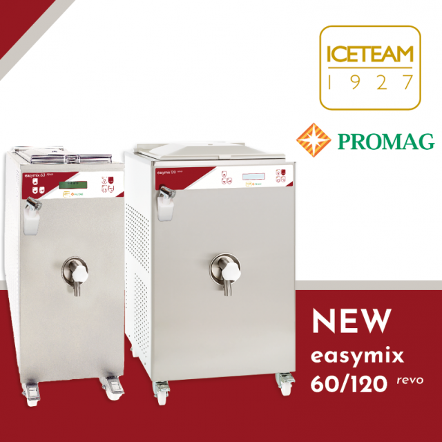 Easymix revo. The revolution of pasteurizers